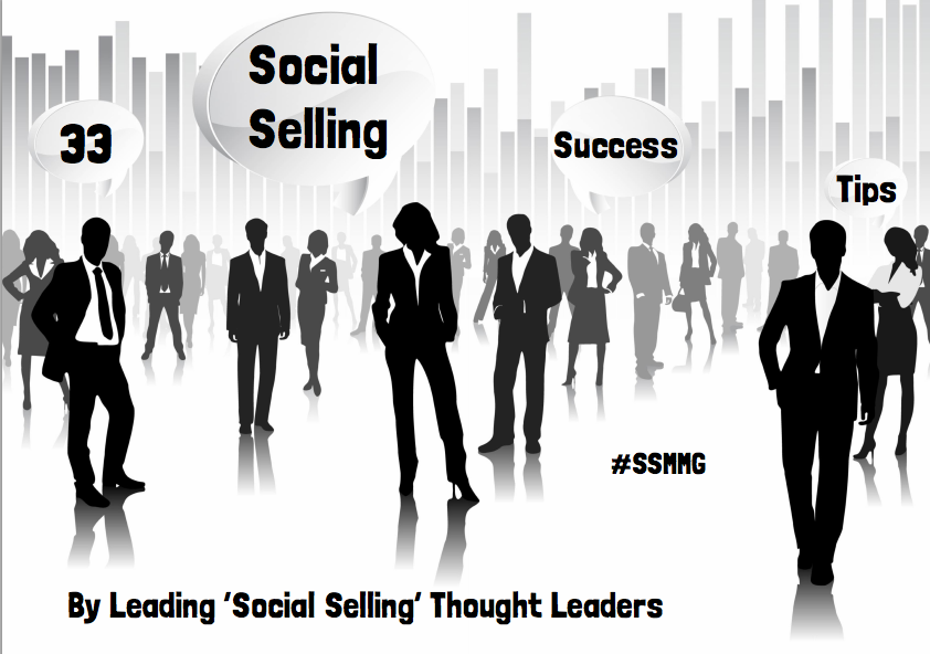 Social selling tips ebook cover