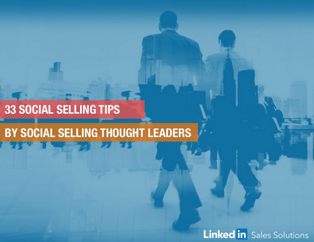 linkedin social selling tips ebook cover