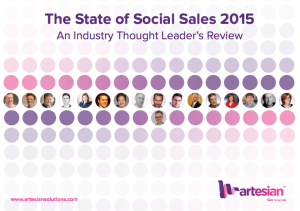 State of Social Sales ebook cover